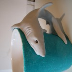 turkos mugg grå haj